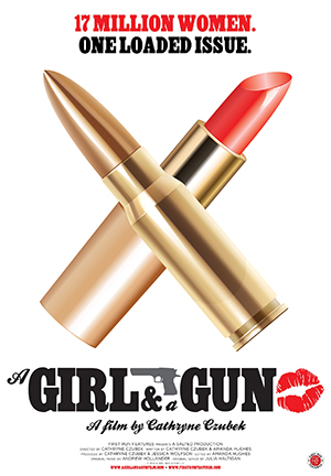 A Girl and a Gun poster art - JPEG 72 300x400