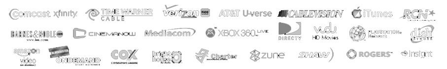 all logos on black wider